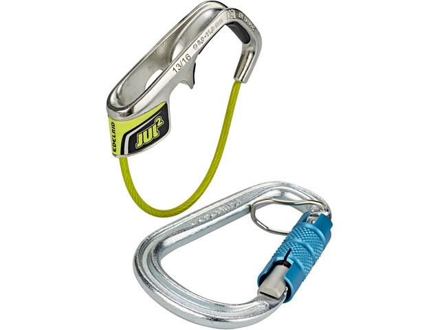 Edelrid 37438 Belay Kit with Steel Triple icemint